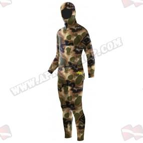 חליפת צלילה Elios Classic Brown Hydro Camouflage