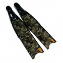 סנפירי צלילה חופשית Leaderfins Green Camo